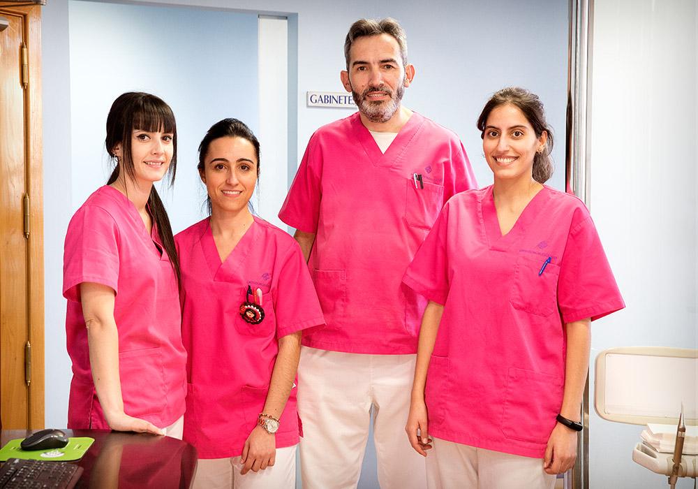 Personal Clínica de Ortodoncia Raúl González